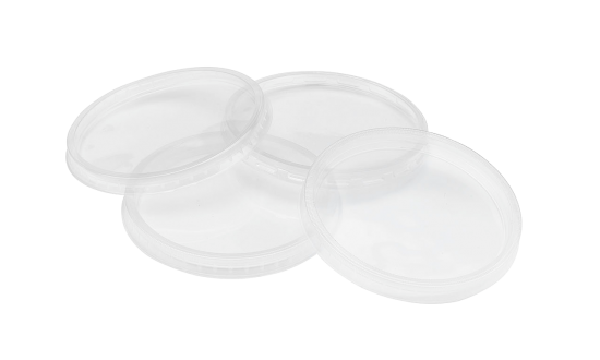 These lids for round culture vessels are available with or without ventilation ribbons.