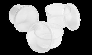 Ces récipients de culture ronds en polypropylène pour la culture de tissus végétaux sont disponibles (non-)stériles en hauteurs de 50, 70 et 80 mm.