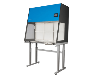 The Interflow cross flow unit, model IF/CF, is using laminar flow to keep your working space free from contaminated air.