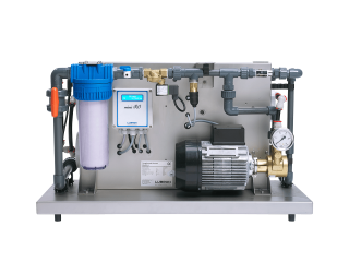 The reverse osmosis system Lubron Mini RO is very reliable, energy efficient and perfect to provide RO water.