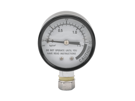 Pressure measurer for Presto's Pressure Canner and Cooker 23-Quart for quick and easy sterilization.