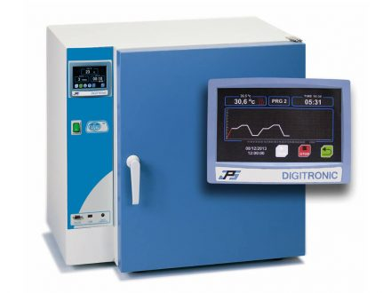 """JP Selecta Drying and sterilization ovens """"Digitheat-TFT"""" have a TFT touch screen for microprocessor control."""