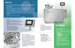 Lab Associates – premium media preparator brochure (2018)