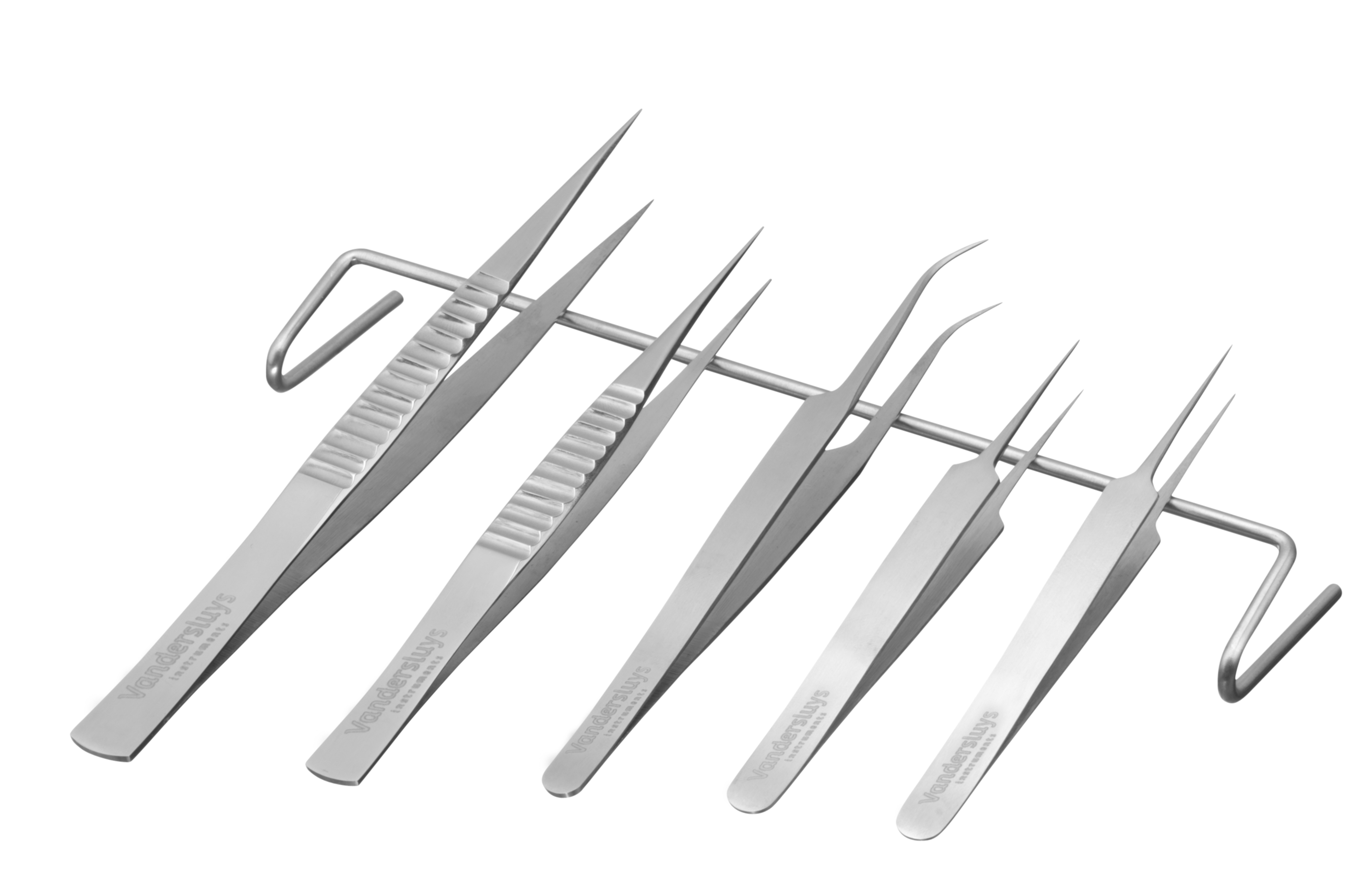 Pointy tip forceps for PTC